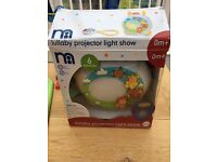 Lullaby projector light show