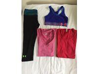 UNDER ARMOUR activewear bundle - good condition (sizes UK 6-8)
