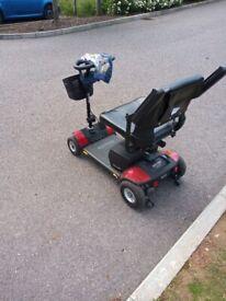 Pride elite traveller mobility scooter