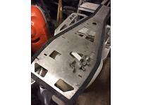 Yamaha raptor 700 skid plate