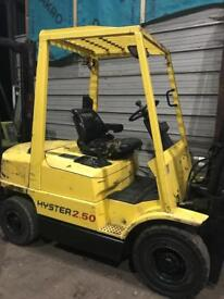 2.5 ton hyster forklift