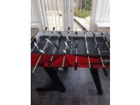 HY-PRO foldable 4-1 Games Table inc football, pool, air hockey & table tennis