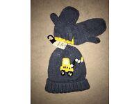 Next Hat & Gloves set for boys