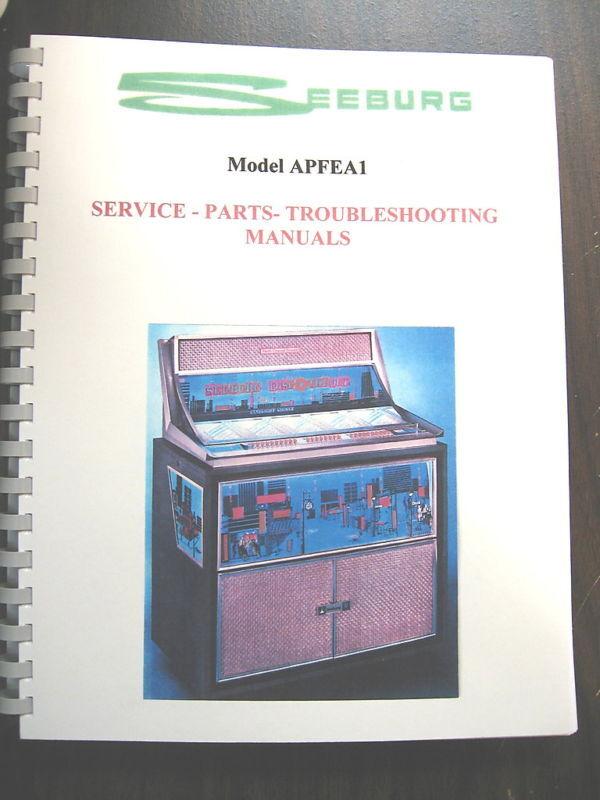 Seeburg Model APFEA1 Jukebox Manual