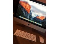 """Apple iMac 21.5"""" Late 2015 i5 8GB. Still under warranty with Apple as only a few months old."""