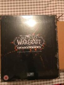 World of Warcraft Cataclysm Collectors Edition (sealed, mint)
