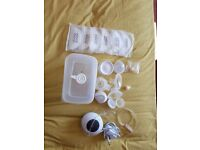 Tommee tippee electric breast pump - some of the accessories are unused