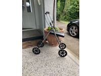 Knee scooter for anyone on crutches