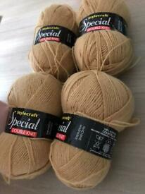 4 x 100gms style raft special dk wool