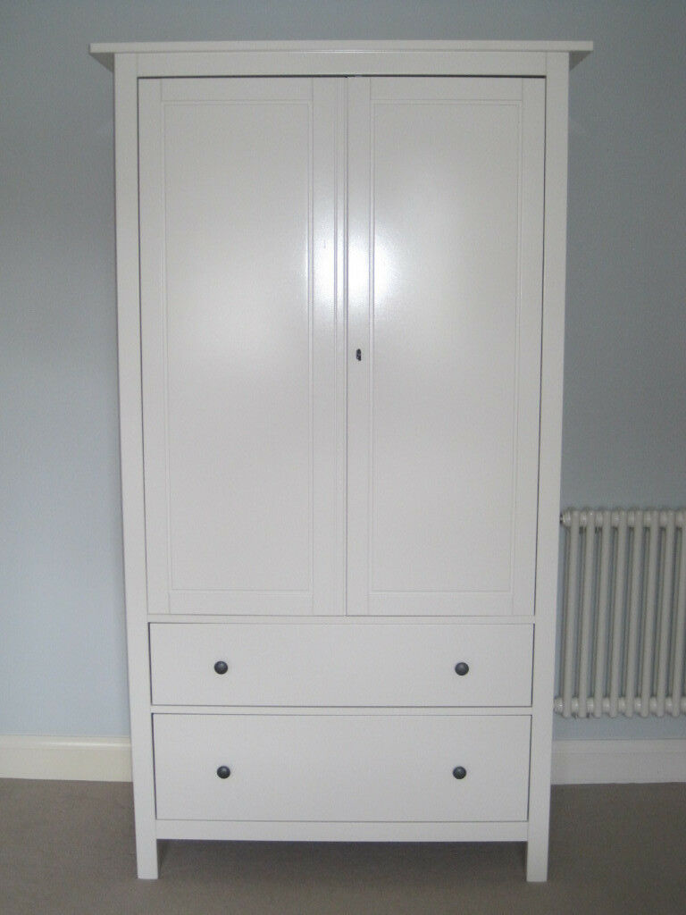 ikea hemnes wardrobe excellent condition in rochester kent gumtree. Black Bedroom Furniture Sets. Home Design Ideas
