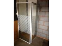 corner shower enclosure. H 1750cm X 720CM x 720cm