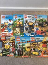 LEGO City Book Bundle. XMAS