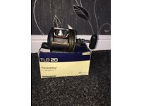Shimano TLD 20 boat reel in good condition £70 ono