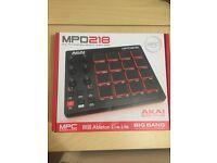 Akai MPD218 USB MIDI Pad Controller