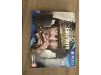 PS4 Slim 500gb with COD WW2, used once