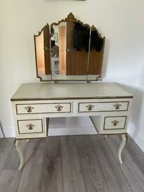 Vintage vanity unit / dressing table
