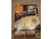 EVEN MORE VINTAGE VOLKSWORLD MAGAZINES FROM 1990'S
