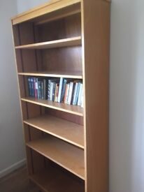 Bookcase - beech veneer, library quality