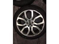 Genuine Range Rover Evoque dynamic 20inc wheels