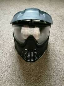 Paintball mask.