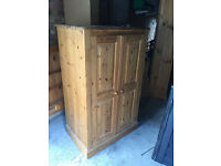 Pine Cabinet – Perfect for Shabby Chic / Computer Cabinet / Small wardrobe or cupboard