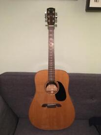 Alvarez acoustic guitar - Masterworks MD65 - all solid woods.