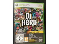 Xbox. DJ Hero. Boxed