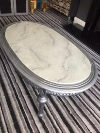 Up cycled French design coffee table