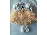0-3 months girl outfit (tia london dress