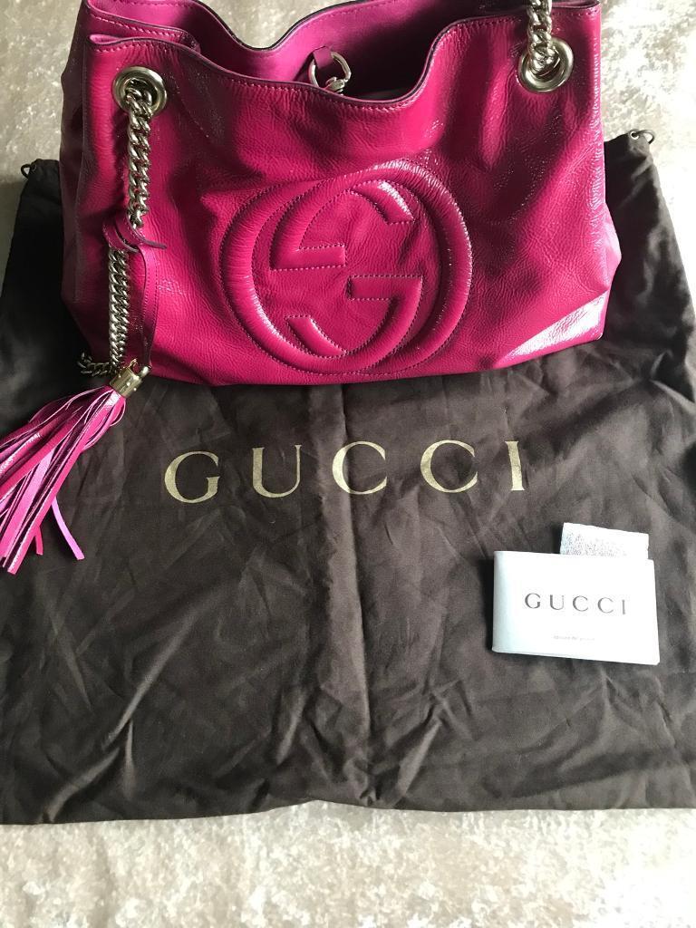 48a2a12e3ad Genuine Gucci bag