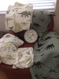 Dinosaur single bedding