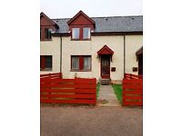 Spacious 2 Bedroom Terraced house in Grantown on Spey
