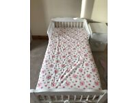 Toddler bed brand new and unused including brand new mattress