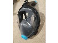Brand new Full Face Snorkel Mask Foldable Panoraic Snorkeling Diving Mask Anti-Fog Anti-leak