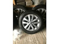 "VW Transporter T5 T6 T6.1 - 16"" wheels and tyres"