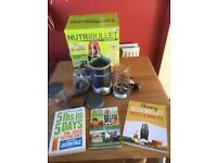NUTRiBULLET 600 series with recipe book and juicer diet plan book