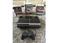 Ps3 with controller and games