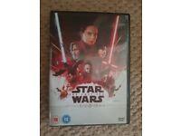 Star Wars-The Last Jedi Dvd