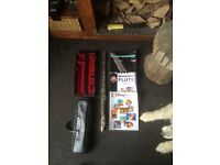 Entry Level Flute Includes a hard case as well as a leather carry case + music books.