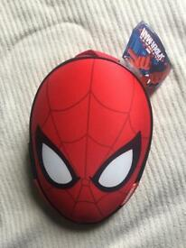 Brand new with tags SPIDER MAN lunchbag/lunchbox