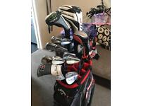 Taylormade, Wilson FG62 golf clubs