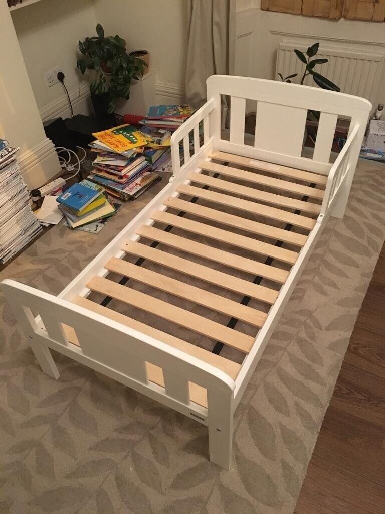Picture of: John Lewis White Toddler Bed With Mattress In London Bridge London Gumtree