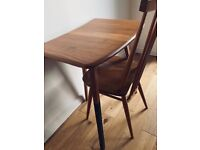 Vintage Ercol 265 desk/extension table
