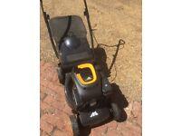 McCulloch M40-110 classic petrol rotary lawnmower still under warranty