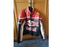 large motorbike jacket redbull
