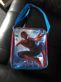 Spider man lunch bag