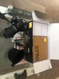 Nikon d750 24-85 VR kit
