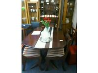 Table 4 Chairs and 2 Carver's #25979 £89