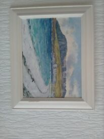 Oil painting by Andrew G Mcewan ( framed )