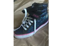 Superdry Ladies High Top Trainers Perfect Condition